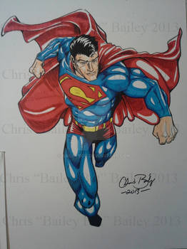Superman, Man of steel!