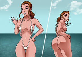 Sling Bikinis Are the Best by Lewdster