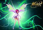 Winx 3d Tecna Poster