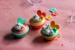 Kawaii Cupcakes by MusicRains
