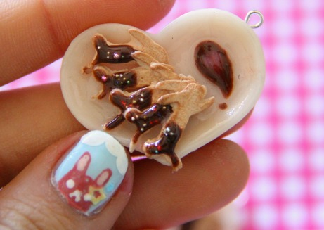 Chocolate Dipped Rabbit Crackers by MusicRains