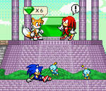 Telling Knuckles about the prophecy