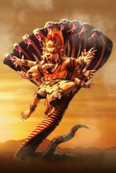 Narasimha by kusumaanggreni