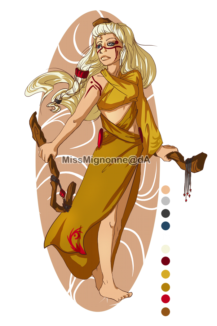 Young Priestess Adoptable Auction :CLOSED: by MissMignonne