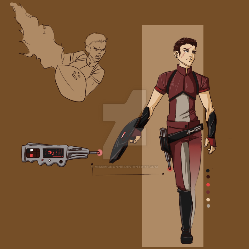 :OPEN: Shield Warrior Adoptable by MissMignonne