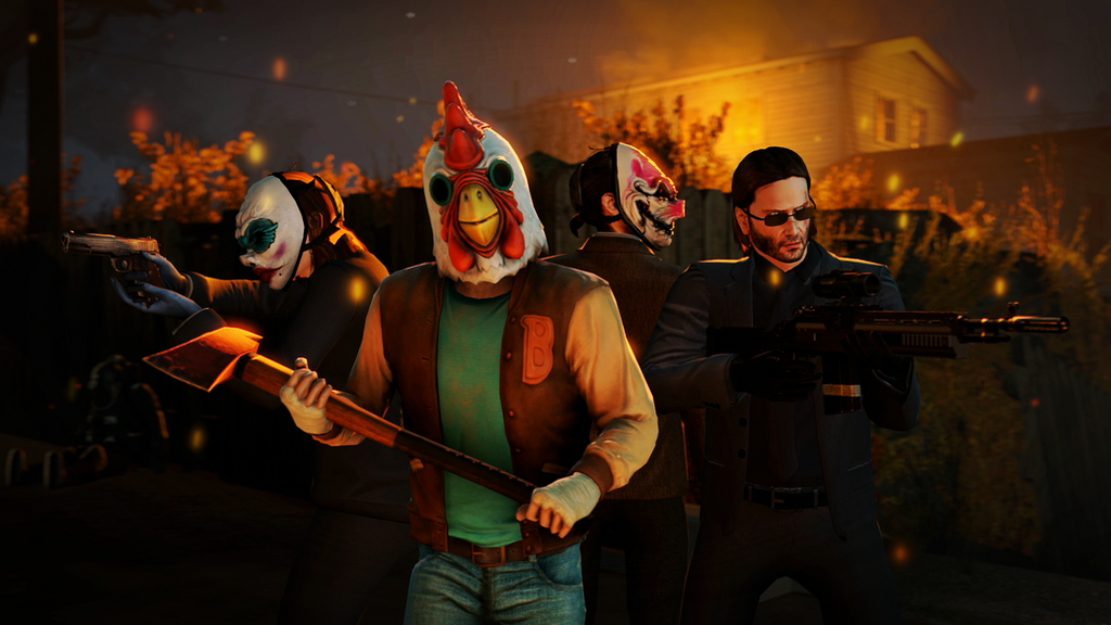 Payday2 -- the Rat job by FiosCrasher