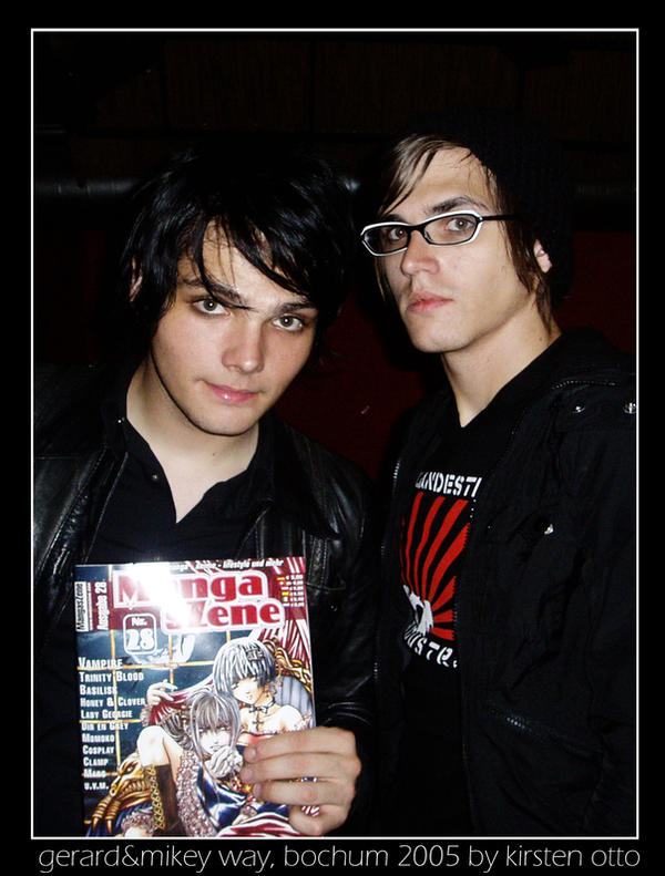 gerard and mikey way by perfectskylines on DeviantArt