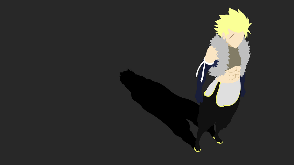 Sting eucliffe fairy tail minimalist wallpaper by for Minimalist art pieces
