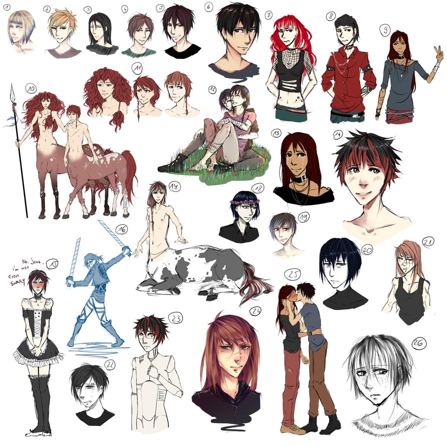 Sketchdump stuff by BansheeDiTrieste