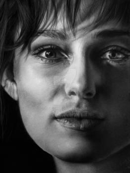Hyperrealism Keira Knightley