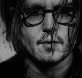 Hyperrealism Johnny Depp