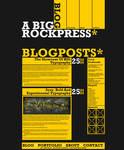 A Big Rockpress - Wordpress