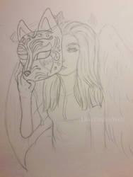 Me [plastic art project]
