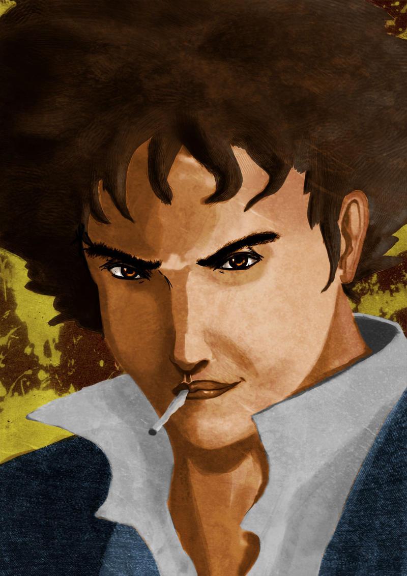 Spike spiegel by kingmancheng on deviantart for Spiegel digital download