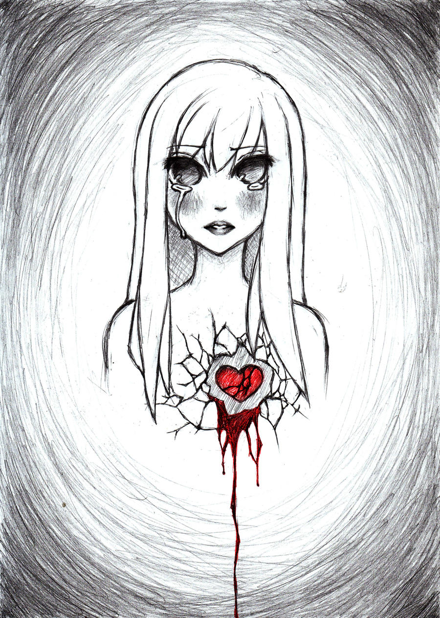 broken heart by cockychan on deviantart