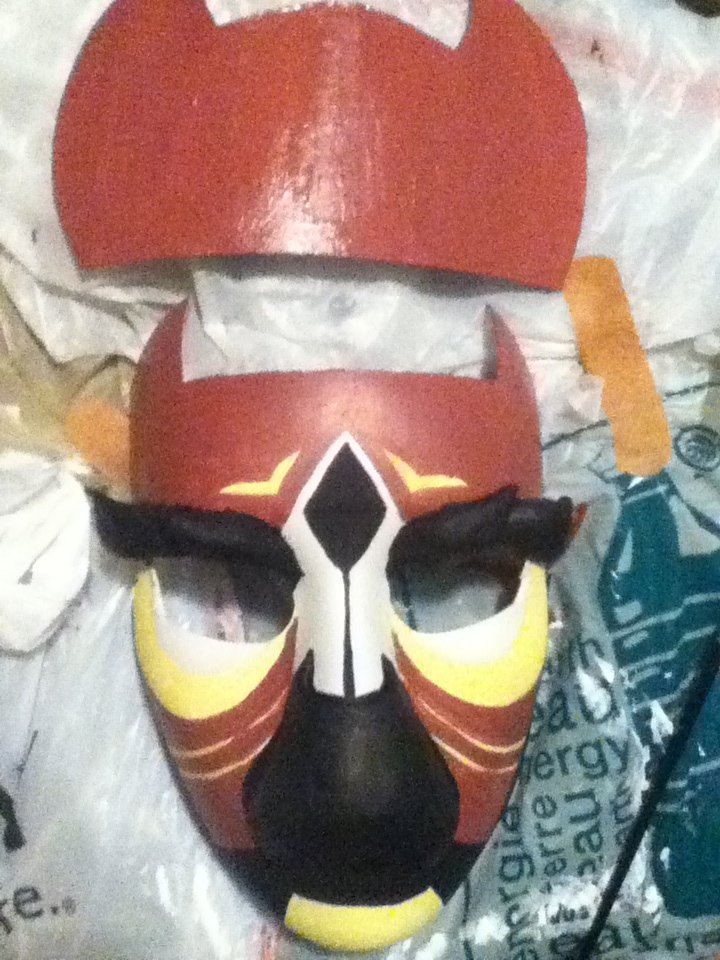 Jyaku mask - WIP by talye05