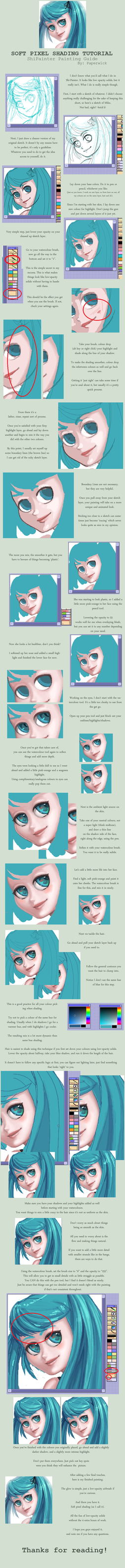 Soft Pixel Shading Tutorial by Paperwick
