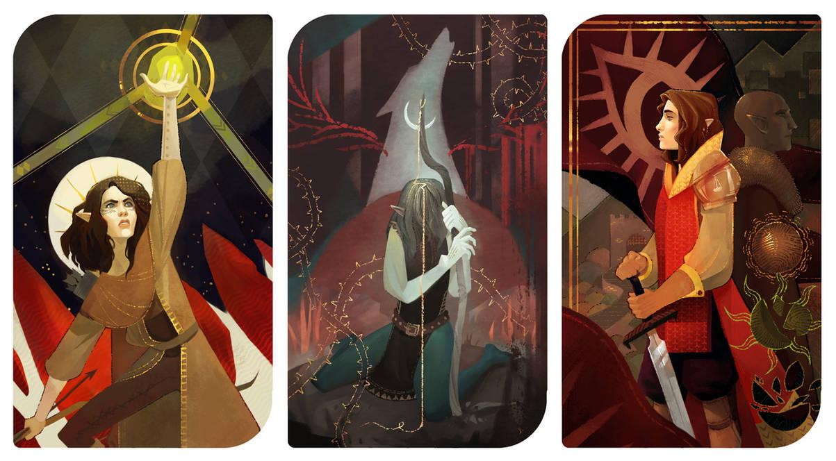 Assana Lavellan: Dragon Age Inquisition Tarots