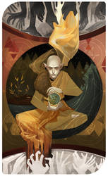 The World: Solas- Dragon Age Inquisition by Paperwick