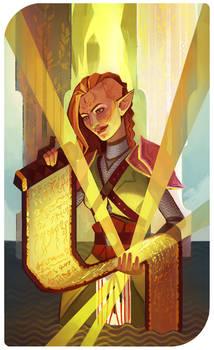 The High Priestess: Ashara Lavellan