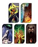Dragon Age Tarot: Color Thumbnails