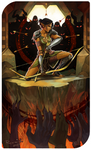 Baninion Mahariel: Seven of Wands