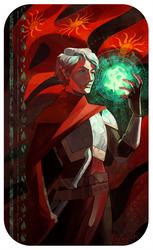 Villerand: Queen of Swords