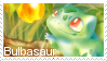 Bulbasaur Stamp by Fox-Bones