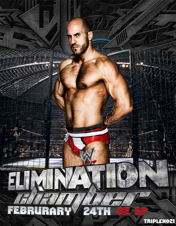 Elimination Chamber 2014 Poster by Tripleh021