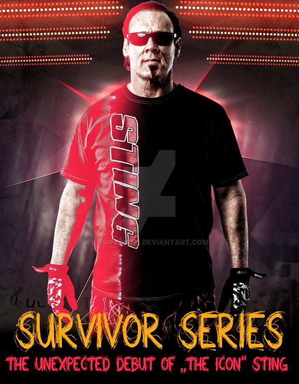 Survivor Series 2014 Stings WWE Debut by Tripleh021 on ...