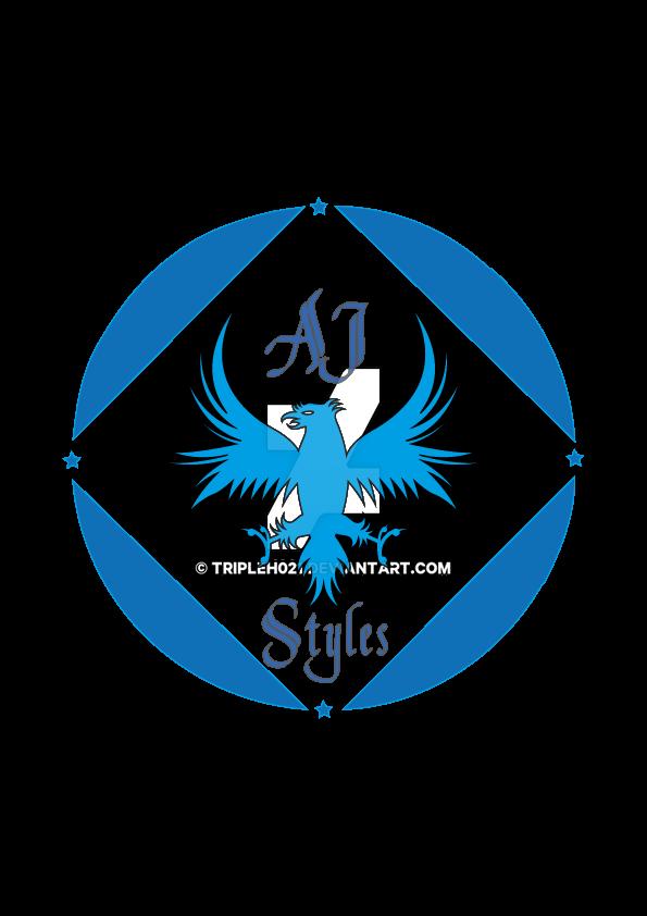 Aj Styles Custom Logo By Tripleh021 On Deviantart
