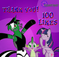 7thElementProject 100 Likes by PonyChaos13