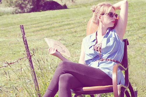 Summer Chair 2 by RugileWonderland