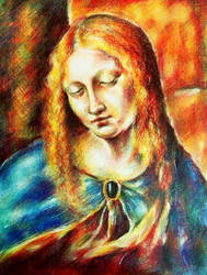 Virgin of Leonardo by Corleth