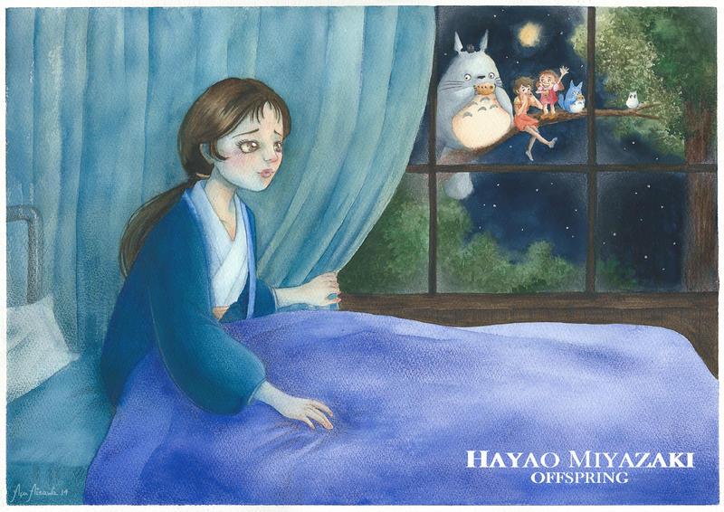 Yasuko Kusakabe - Tonari no Totoro by rinoa-kisaragi
