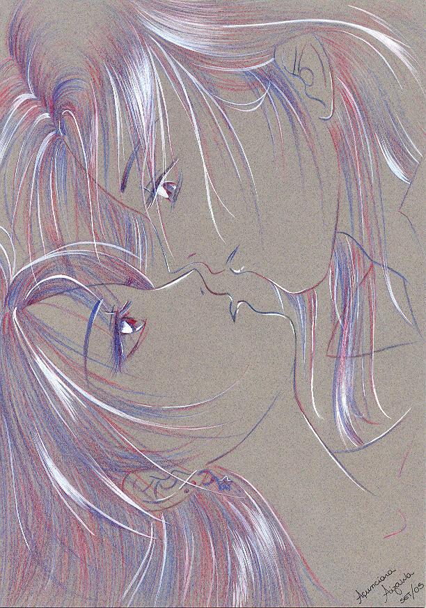 Kiss by rinoa-kisaragi