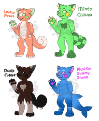 [Snakatoo Forest] Guest Artist Adopts (CLOSED)