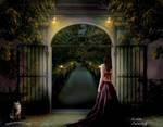 Waiting Behind the Gate by kpep