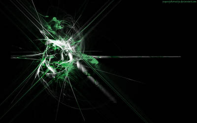 Attack of green by TiaVon