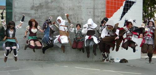 Fanime 2011 Jumping Assassins