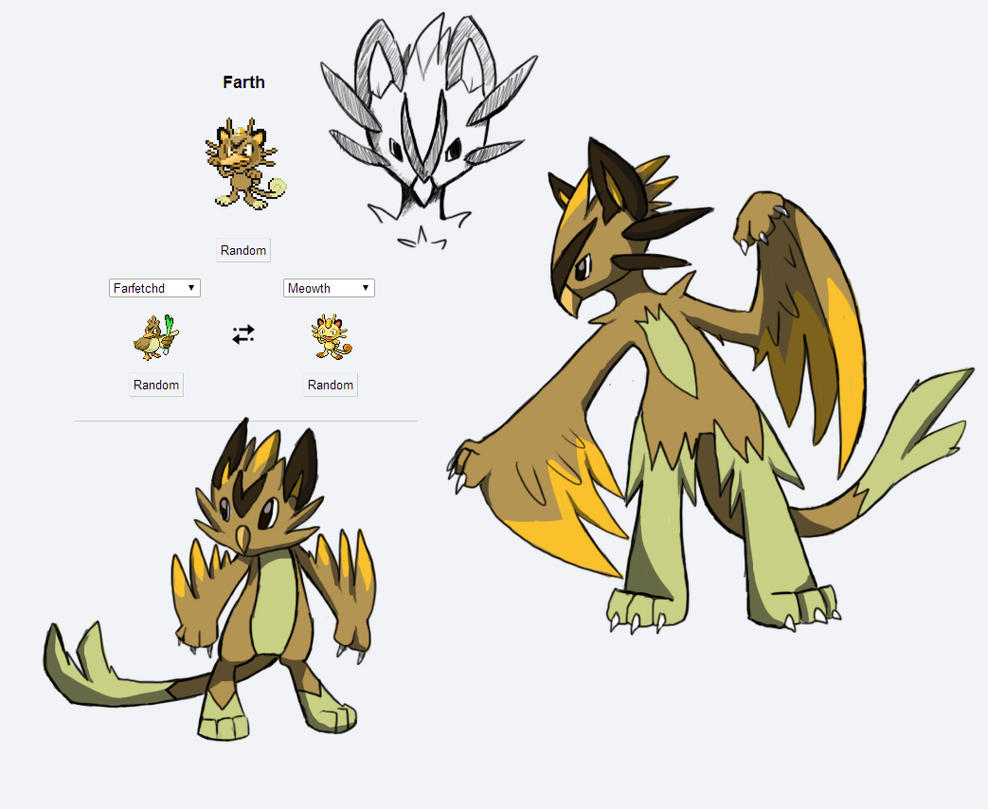 Fakemon Fusion Route 1 Flying Poke by Eternity9