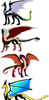 Disney Villains Themed Dragon Adopts:  CLOSED
