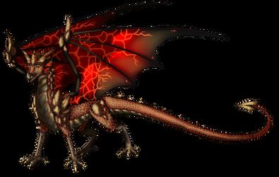 Custom Dragon For Dragonwolf1775 by Eternity9