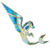 Winged Hippocampus by Eternity9
