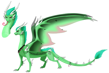 Dragon for Celiaurore by Eternity9