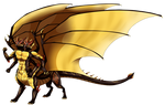 Commission: Nik Dragontaur by Eternity9