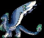 Blue Illusion Dragon Auction CLOSED