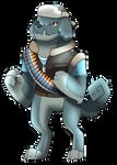 Blue HeavyDog by Eternity9