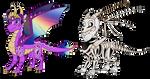 Custom Dragons For Rosefang16 by Eternity9