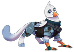 Blue HeavyGriff by Eternity9